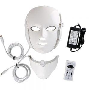 Masque de thérapie lumineuse à LED couleurs